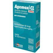 Antibiótico Agemoxi CL Agener União 250mg 10 Comprimidos