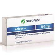 Antibiótico Azicox 2 Ouro Fino 200mg