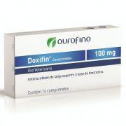 Antibiótico Doxifin Ouro Fino Comprimido 100mg
