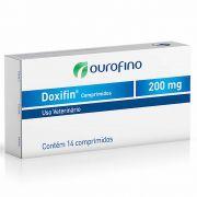Antibiótico Doxifin Ouro Fino Comprimido 200mg