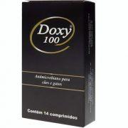 Antibiótico Doxy 100 Cepav 14 Comprimidos