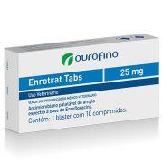 Antibiótico Enrotrat Tabs Ouro Fino 25mg