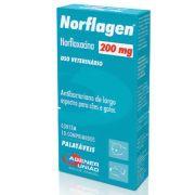 Antibiótico Norflagen Agener União 200mg
