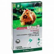Antipulgas e Carrapatos Advantage Max3 até 4kg