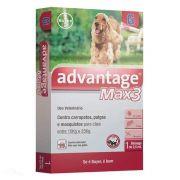 Antipulgas e Carrapatos Advantage Max3 entre 10 e 25kg