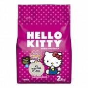 Areia Higiênica Biodegradável Hello Kitty Fina 2kg