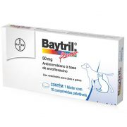 Baytril Flavour Cães e Gatos 50mg