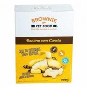 Biscoito Natural Brownie Banana com Canela 200g