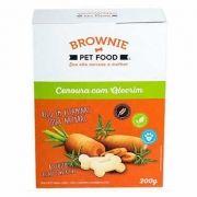 Biscoito Natural Brownie Cenoura com Alecrim 200g