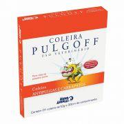 Coleira Pulgoff antipulgas e carrapatos 30cm