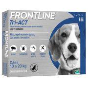 Frontline Tri-ACT 10 a 20kg Caixa com 3 Pipetas