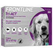 Frontline Tri-ACT 20 a 40kg Caixa com 3 Pipetas