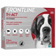 Frontline Tri-ACT 40 a 60kg Caixa com 3 Pipetas