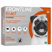 Frontline Tri-ACT 5 a 10kg Caixa com 3 Pipetas