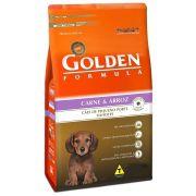 Golden Formula Filhotes Carne Raças Pequenas
