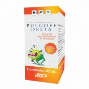 Inseticida Antipulgas e Carrapatos Pulgoff Delta 30ml