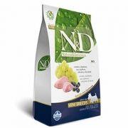 N&D Mini Adult Cordeiro e Blueberry Livre de Cereais