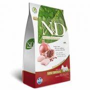 N&D Mini Adult Frango e Romã Livre de Cereais