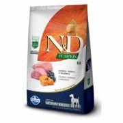 N&D Pumpkin Medium Adult Cordeiro, Abóbora e Blueberry