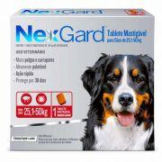 NexGard Antipulgas e Carrapatos Cães 25 a 50kg
