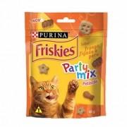 Petisco Friskies Party Mix Frango Fígado e Peru 40g