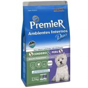 PremieR Ambientes Internos Duo Adultos Cordeiro e Peru