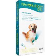 Revolution 12% para Cães de 20,1 - 40(Kg) 2ml