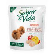 Sabor & Vida Cães Filhotes Frango ao Molho com Frutas Sachê