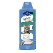 Shampoo Gatos 2 em 1 Pet Clean 700ml