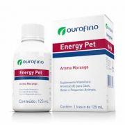 Suplemento Energy Pet Ouro Fino 125ml