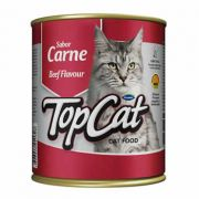 TopCat Sabor Carne Lata 290g
