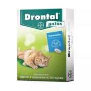Vermífugo Drontal Gatos Blist 4 Comprimidos