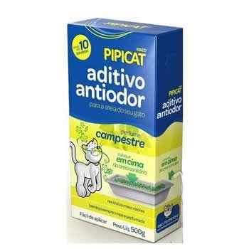 Aditivo Antiodor Campestre Pipicat 500G  - Brasília Pet