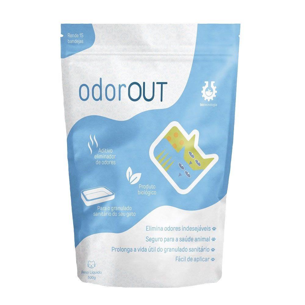 Aditivo Antiodor Odorout 500g  - Brasília Pet