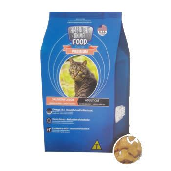 American Animal Food Premium Blu Gatos Adultos Salmão  - Brasília Pet