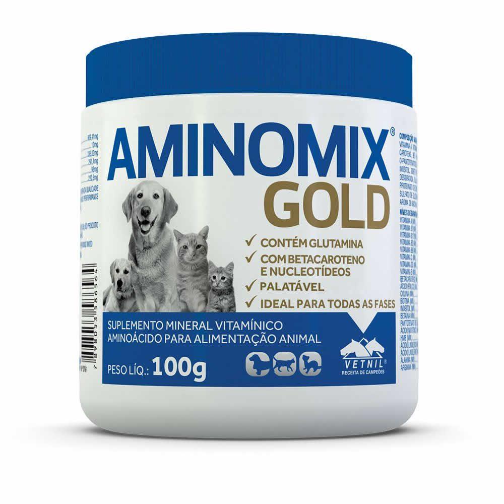 Aminomix Gold  - Brasília Pet