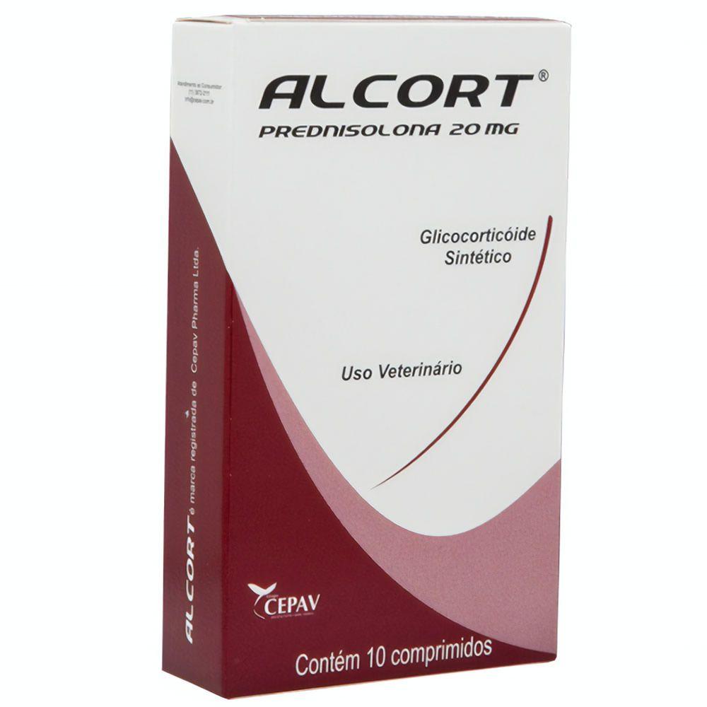Anti-Inflamatório Alcort 20mg Cepav 10 Comprimidos  - Brasília Pet