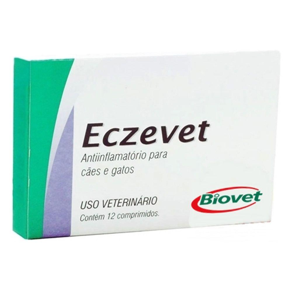 Anti-Inflamatório Eczevet Biovet 12 comprimidos  - Brasília Pet