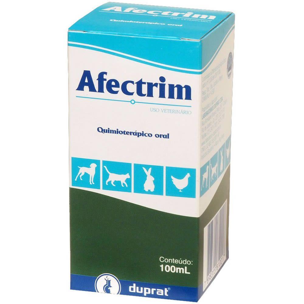 Antibiótico Afectrim Duprat 100ml  - Brasília Pet