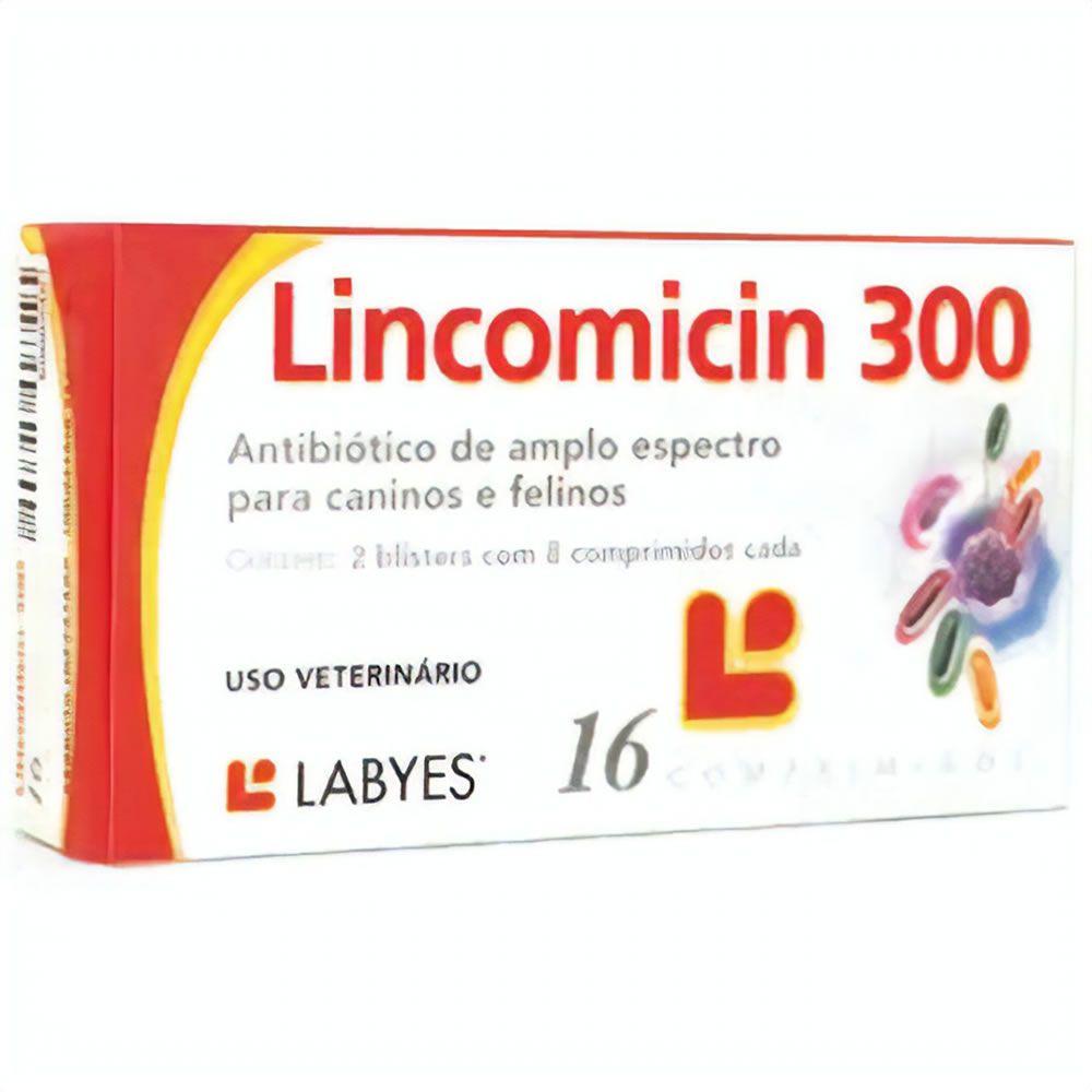 Antibiótico Lincomicin 300mg  - Brasília Pet
