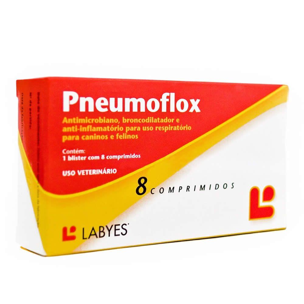 Antibiótico Pneumoflox  - Brasília Pet