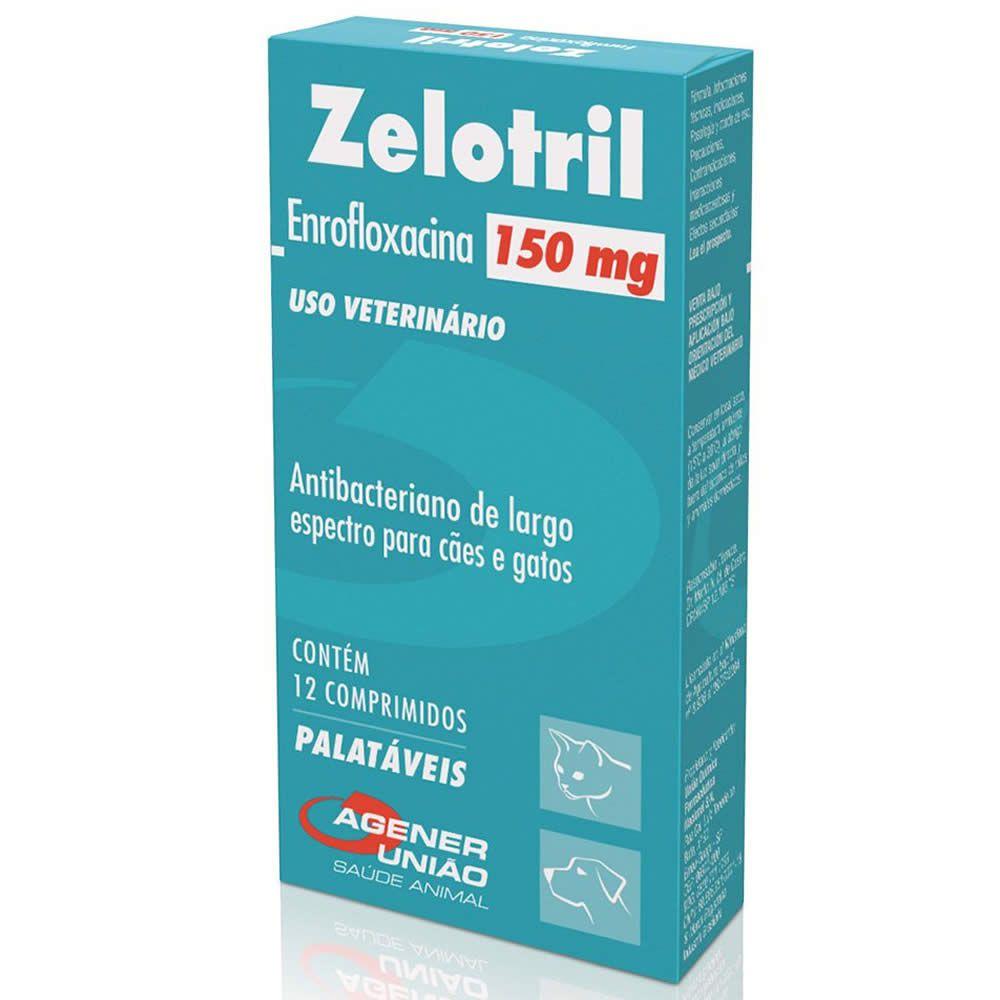 Antibiótico Zelotril Agener União 150mg  - Brasília Pet