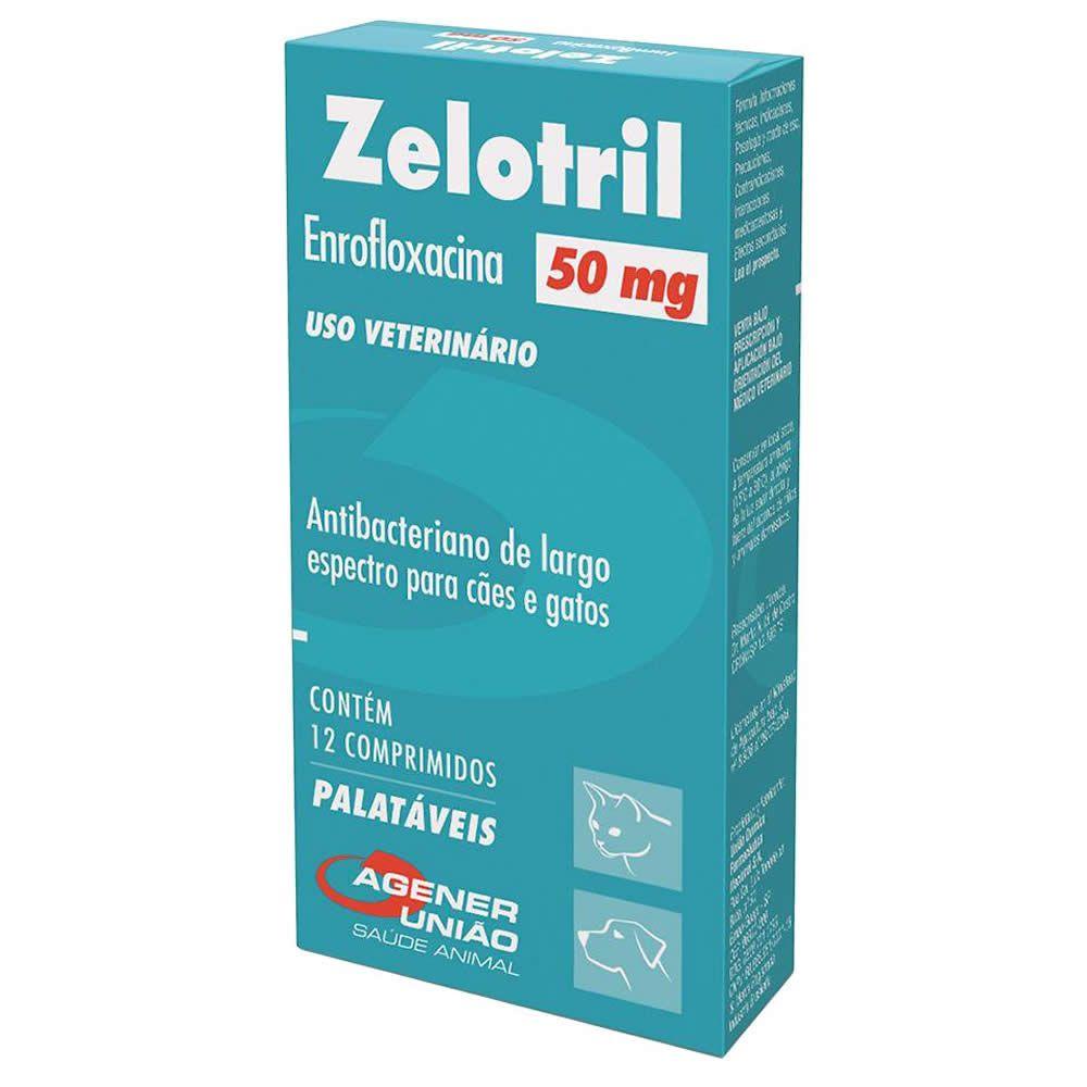 Antibiótico Zelotril Agener União 50mg  - Brasília Pet