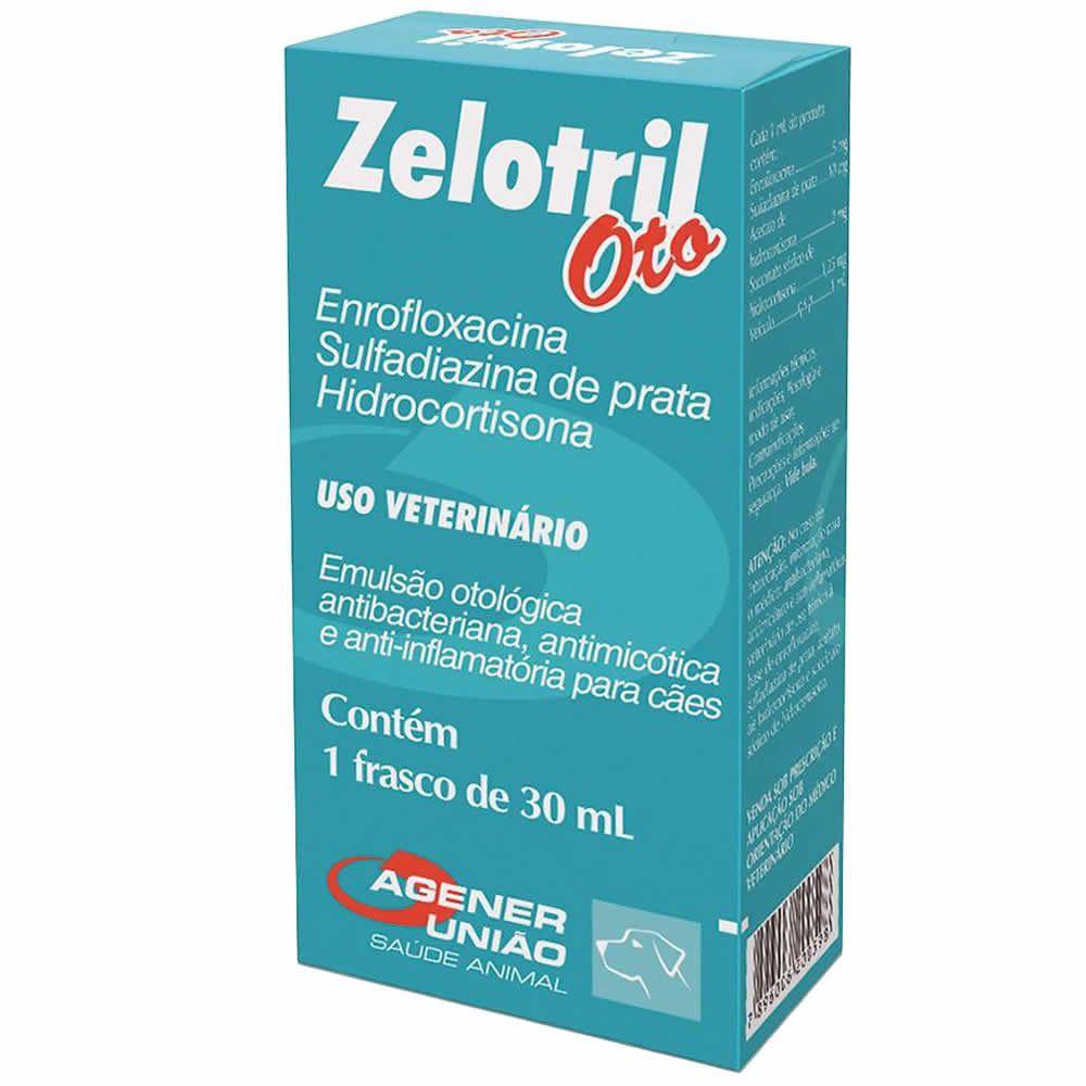 Antibiótico Zelotril Oto Agener União  - Brasília Pet
