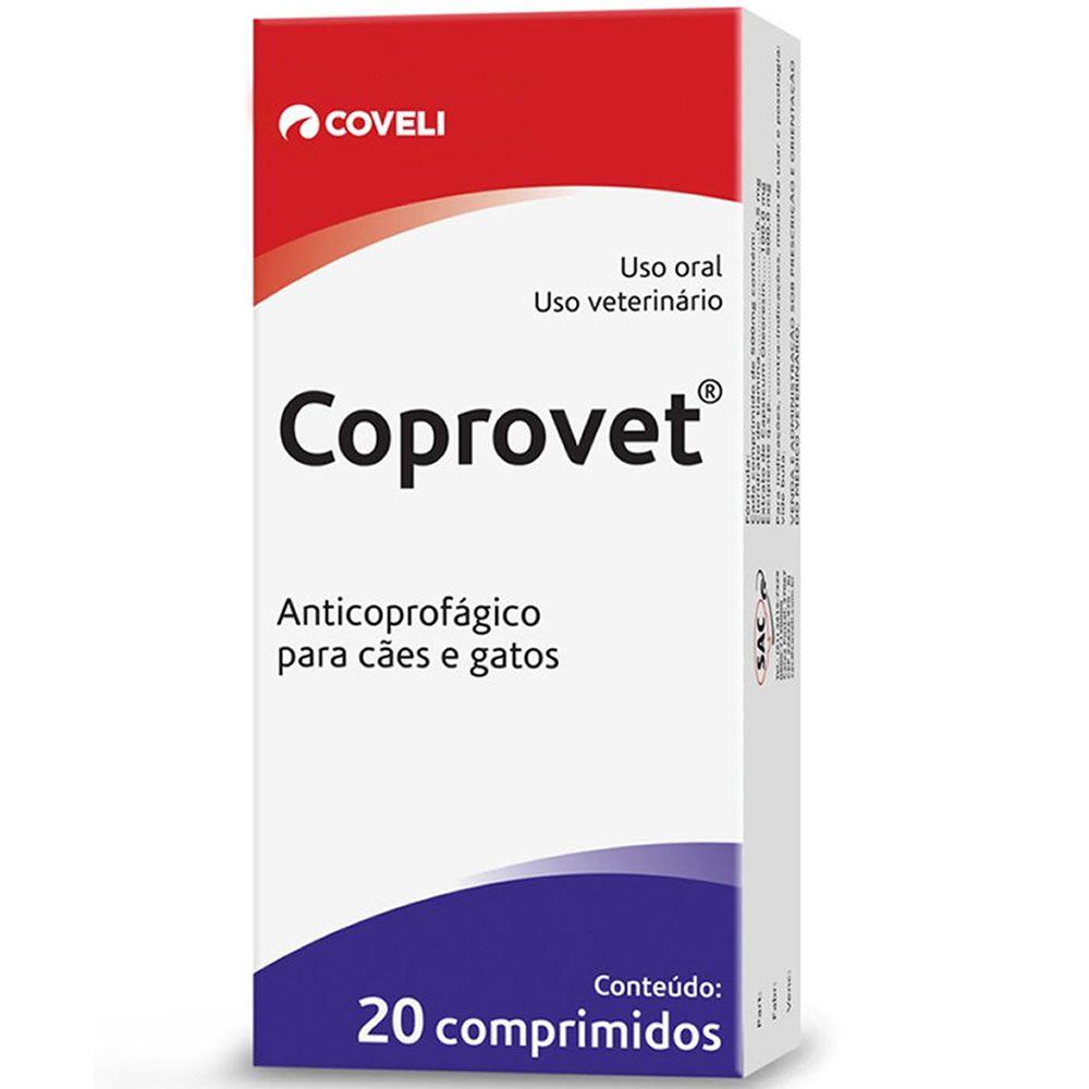 Anticoprofágico Coprovet Coveli 20 Comprimidos  - Brasília Pet
