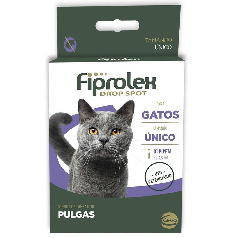 Antiparasitário Fiprolex Drop Spot Gatos  - Brasília Pet