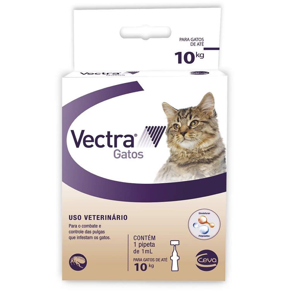 Antiparasitário Vectra 3D Gatos  - Brasília Pet