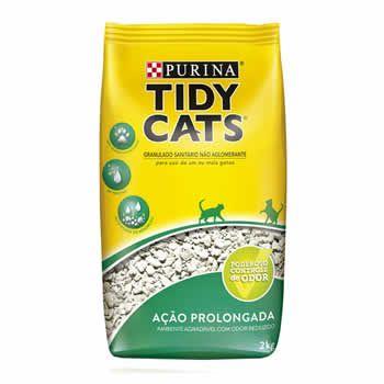 Areia Higiênica Tidy Cats 2Kg  - Brasília Pet