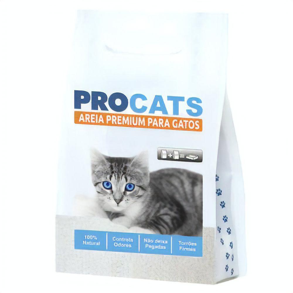 Areia ProCats Premium 2kg  - Brasília Pet