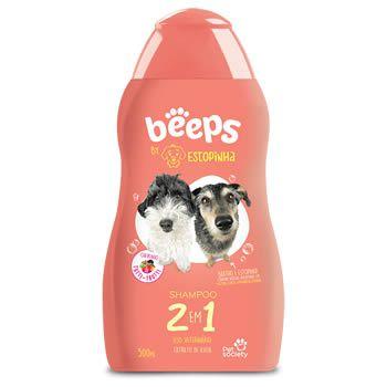 Beeps Estopinha Shampoo 2 em 1  500ml  - Brasília Pet